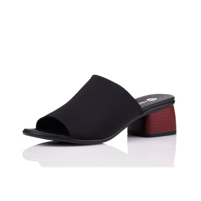 Black Top Strech Sandal, R8752-01
