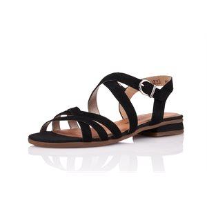 Black Heel Sandal, R9052-02