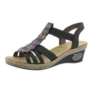Multi Color Wedge Sandal V2426-45