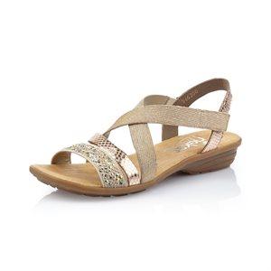 Beige Combo Sandal V3463-60