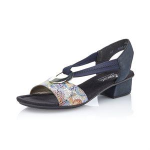 Sandale, Bleue V6263-90