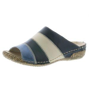 Blue Multi Color Sandal V7266-15