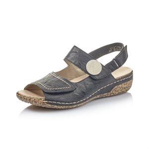 Black Sandal V7272-00