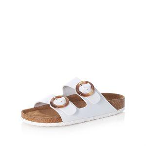 White Slipper Sandal V9370-80