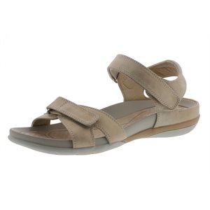 Beige Velcro Sandal