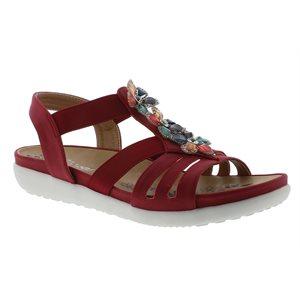 Red Sandal V9571-33
