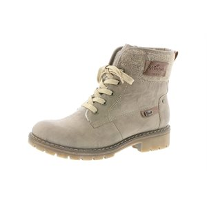 Beige Winter Boot