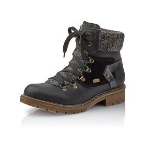 Black Winter Boot Y9143-01