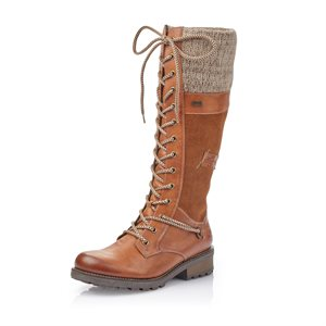 Brown Waterproof Winter Boot Z0442-24