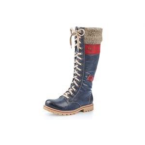 Blue Waterproof Winter Boots Z1442-14
