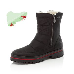 Black Waterproof Winter Boot Z5460-00