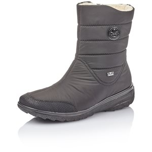 Black Waterproof Winter Boot Z7082-00