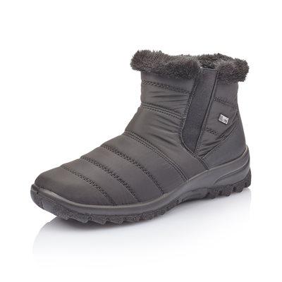 Black Waterproof Winter Boot Z7164-00