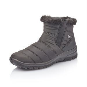 Black Waterproof Winter Boot Z7164-00